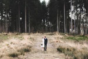 Hochzeitsfoto in der Ohligser Heide in Solingen