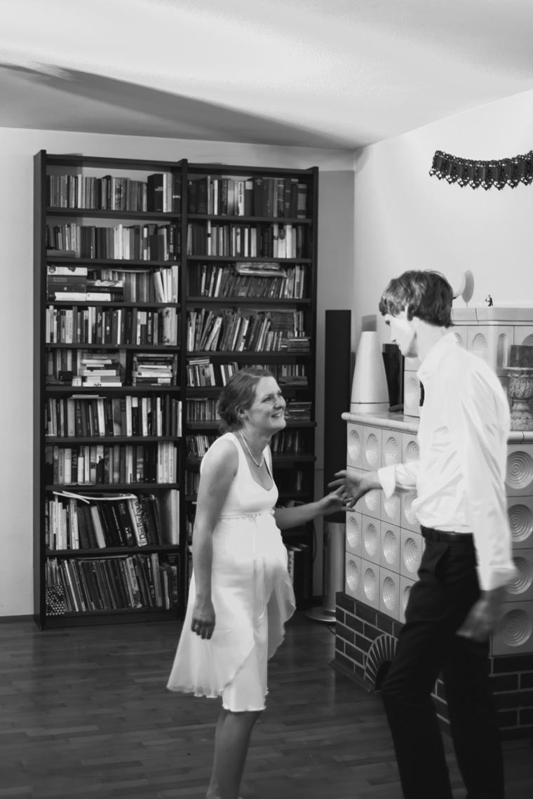 Brautpaar während First Dance