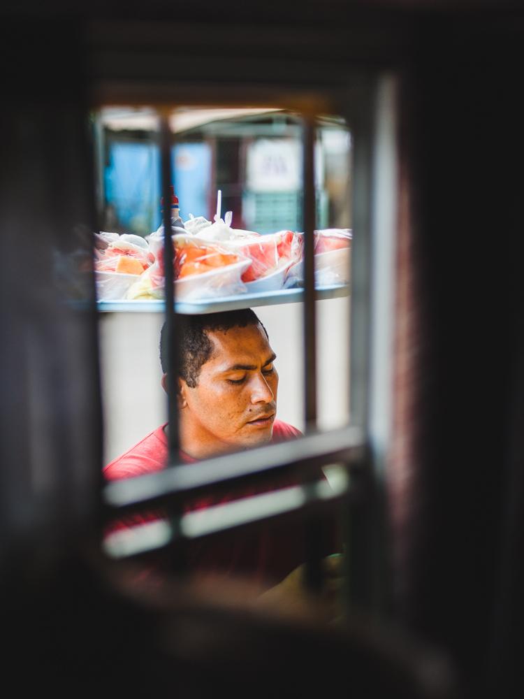 Busbahnhof Managua - Verkäufer