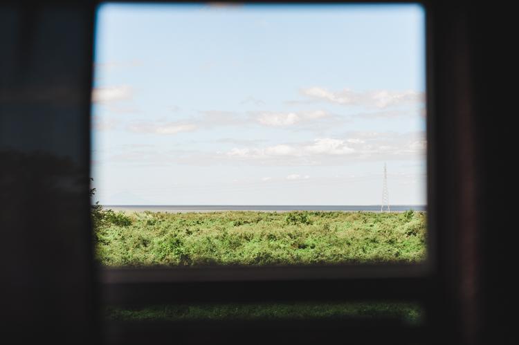 Der Managua-See, Blick von der Panamericana