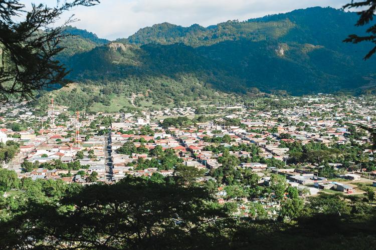 Blick auf Jinotega