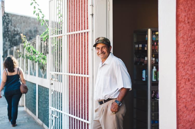 Mann in San Rafael del Norte