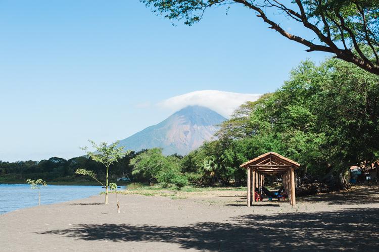 Strandimpression auf Ometepe.