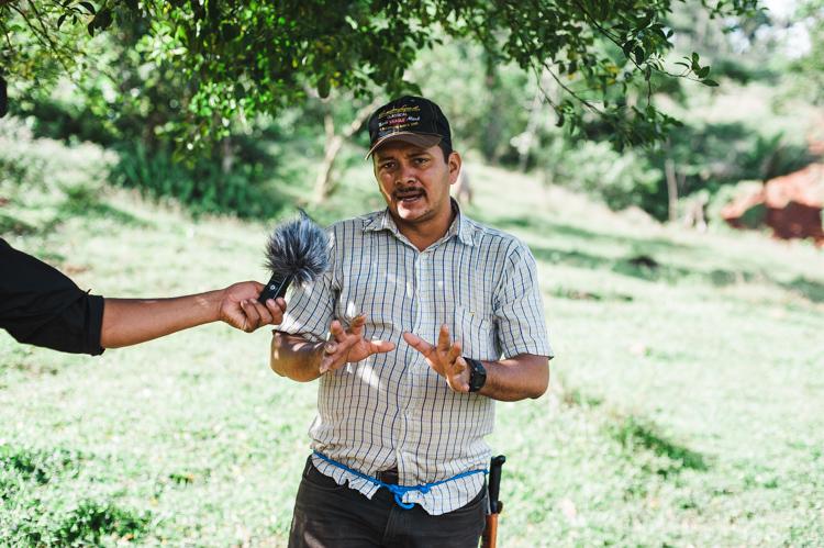 Aktivist in Nicaragua spricht über Nicaragua Kanal.