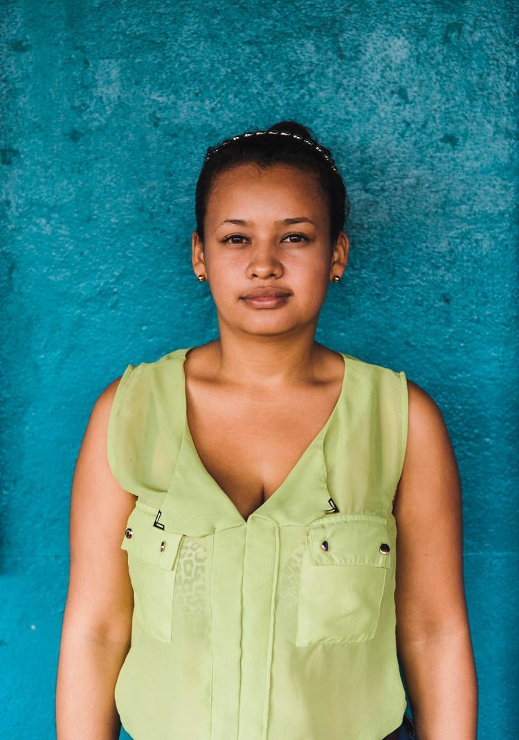 """Karel, 23, engagiert sich im Dorf """"El Tule"""" an der Südostseite des Nicaragua-Sees gegen das Kanal-Projekt."""