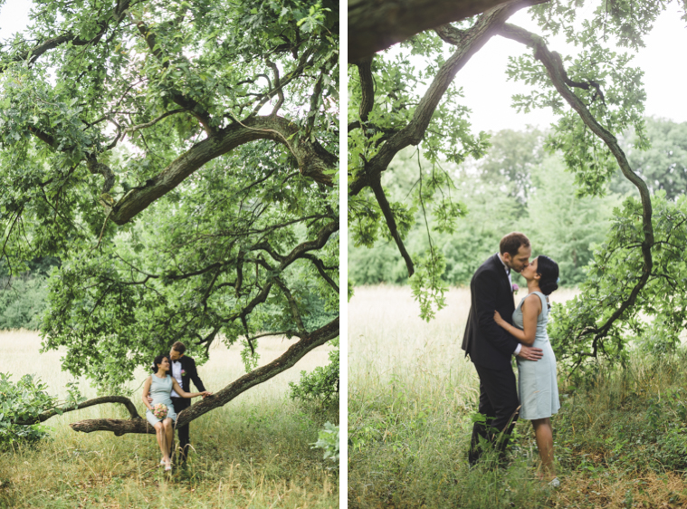 Relaxed wedding photo session in Berlin