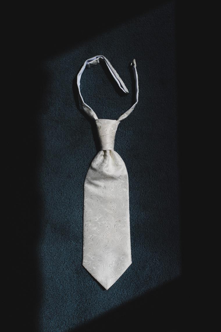 Krawatte des Bräutigams