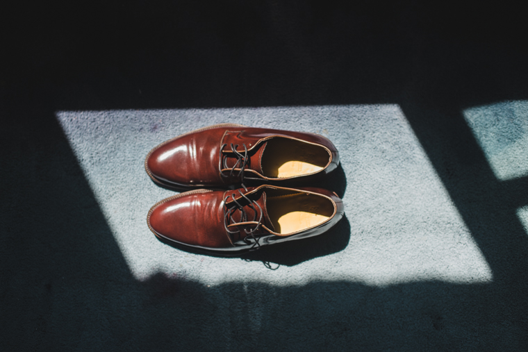 Schuhe des Bräutigams