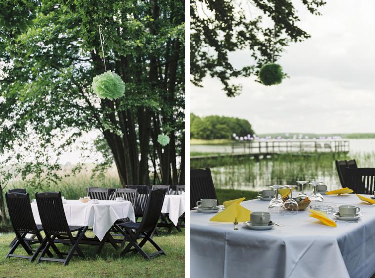 Hochzeit Tischgedeck Tisch Deko