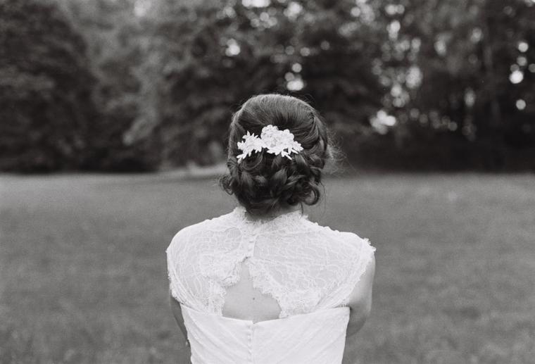Braut Hochzeitskleid Haarschmuck