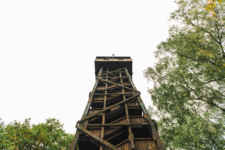 Willi Weitzel auf Hunburgturm