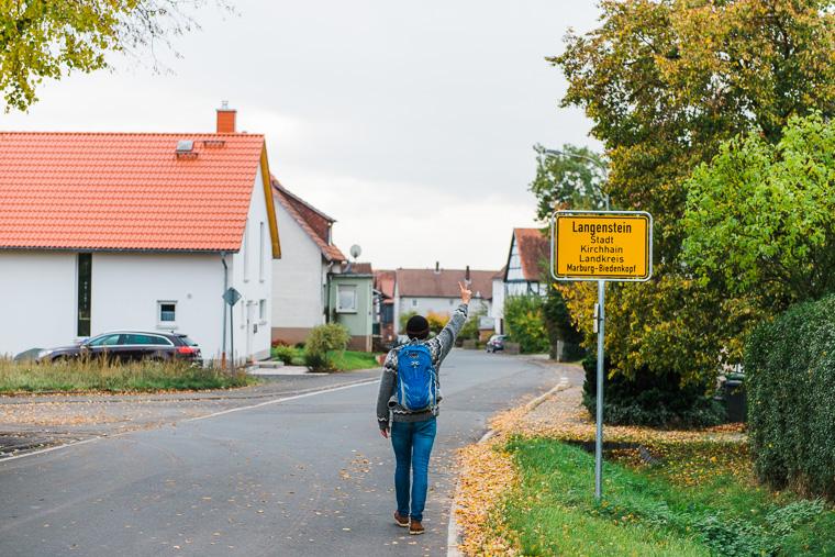 Ankunft Langenstein