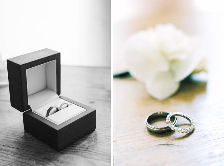 Detailfoto Ringe für Hochzeit