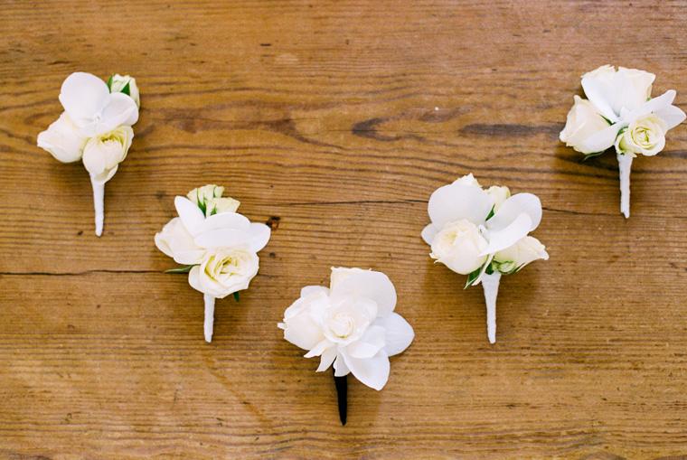 Ansteckblumen für Anzug