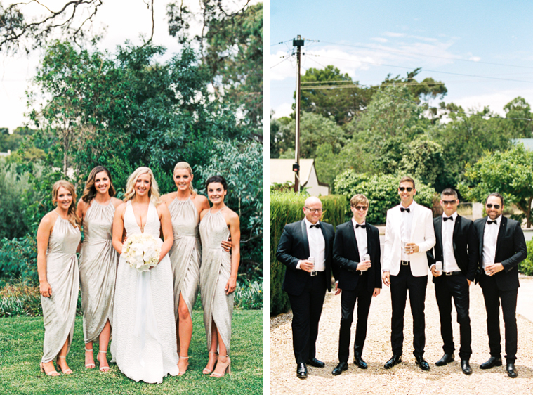 Fine art film wedding photographer adelaide