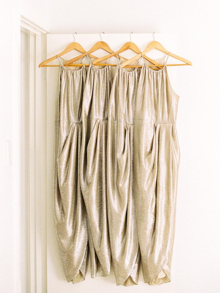 Kleider der Trauzeuginnen