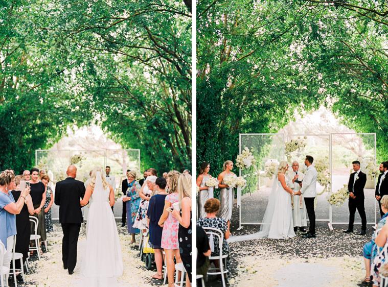 Braut Übergabe Bräutigam