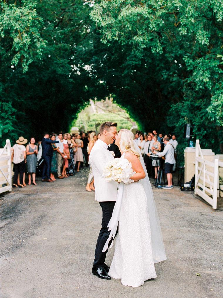 Hochzeitsfoto auf Film