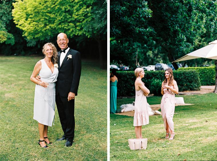 Eltern des Brautpaares und Gäste