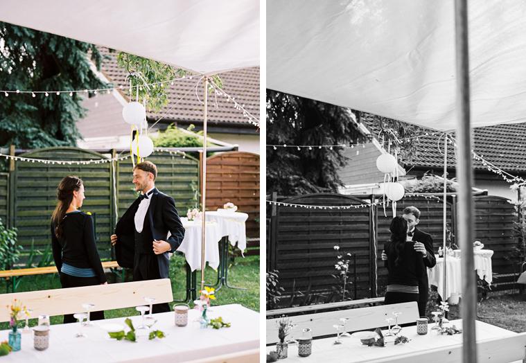 First look Hochzeitspaar