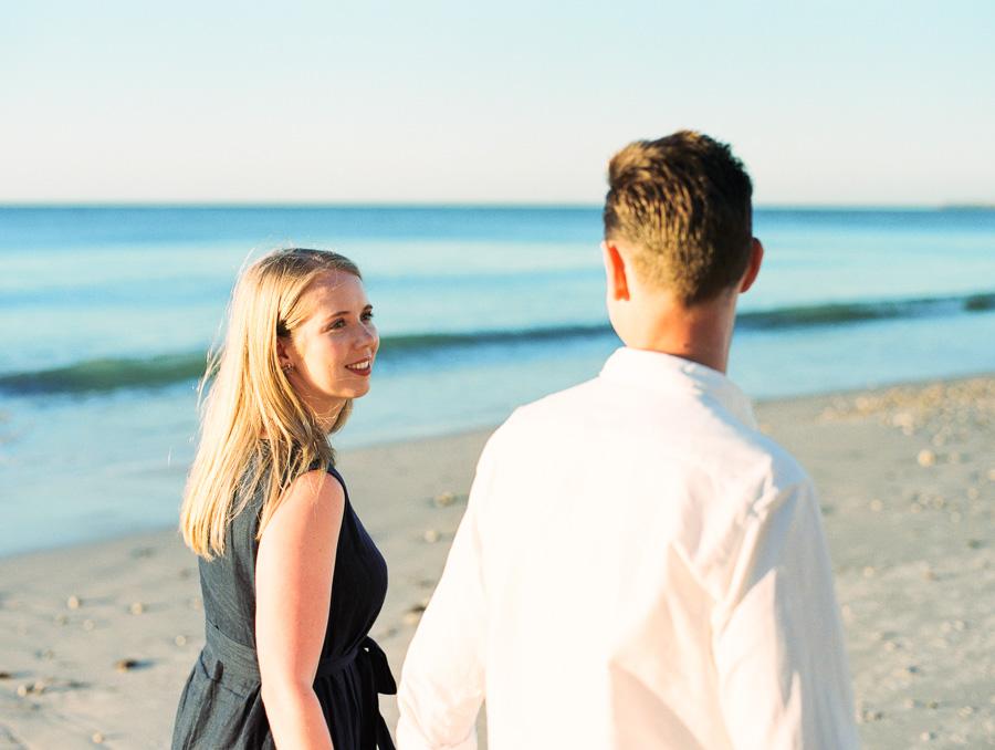 Verlobungsfotos am Strand