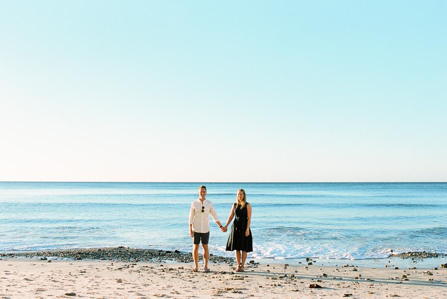 Er und sie an der Küste