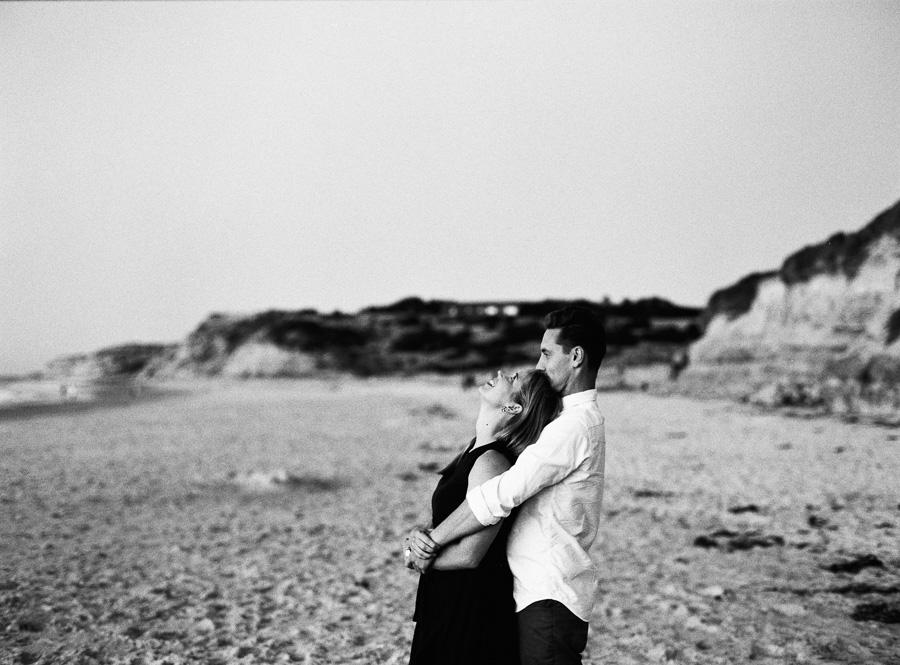 Er und sie am Strand