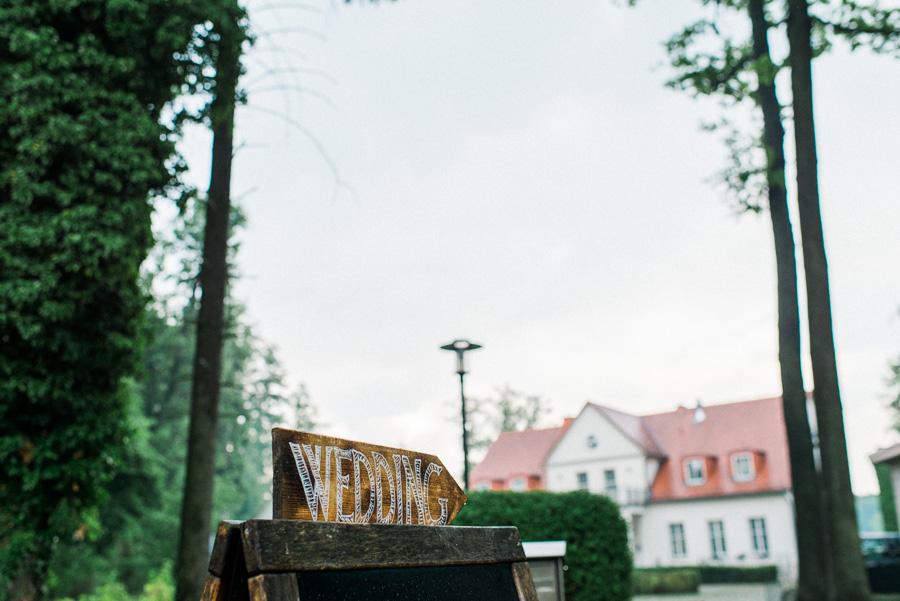 Eingangsschild Hochzeit