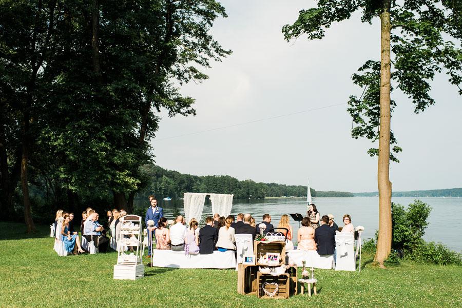 Hochzeit am Werbellinsee