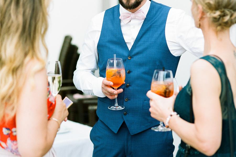Aperol Spritz als Hochzeitsgetränk