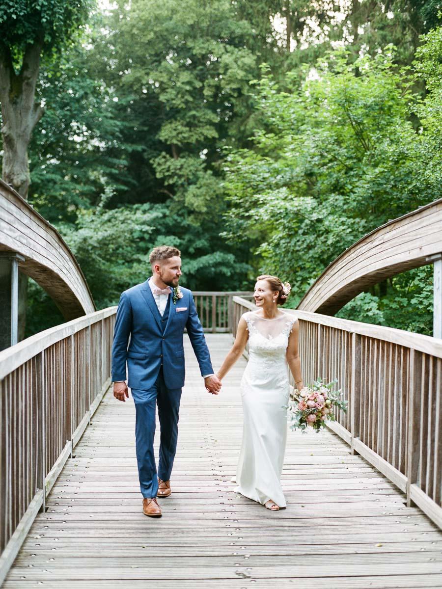 Hochzeitsfoto am Werbellinkanal
