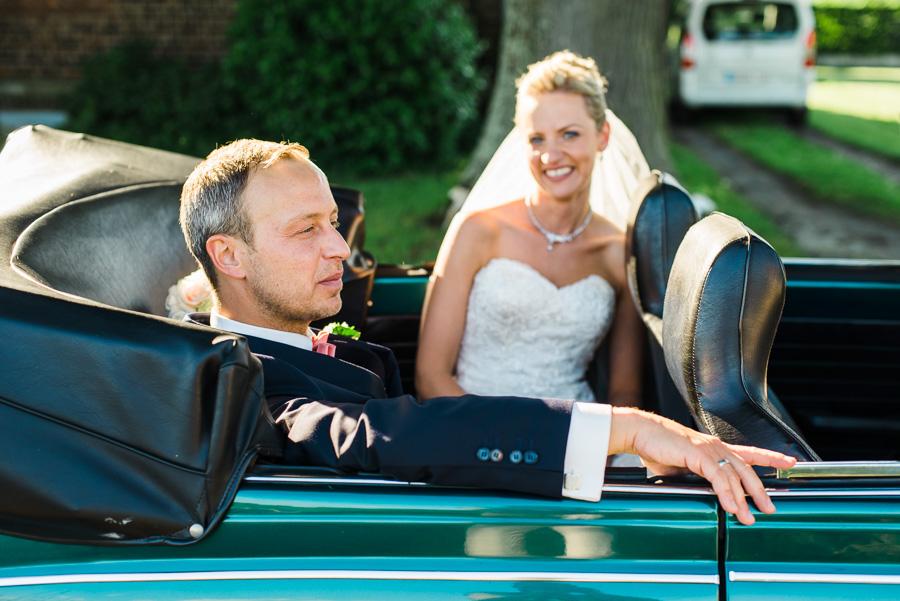 Brautpaar in Käfer