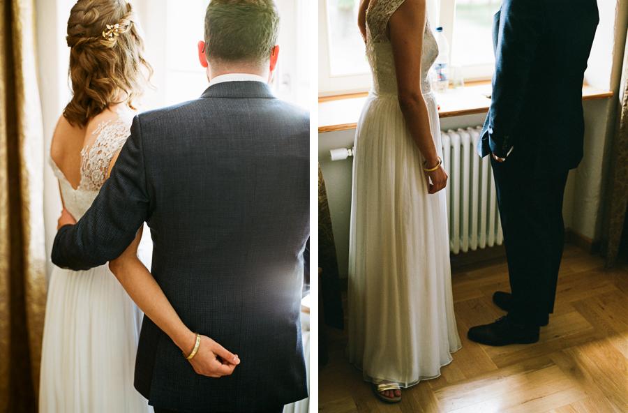 Detailfotos Hochzeitspaar