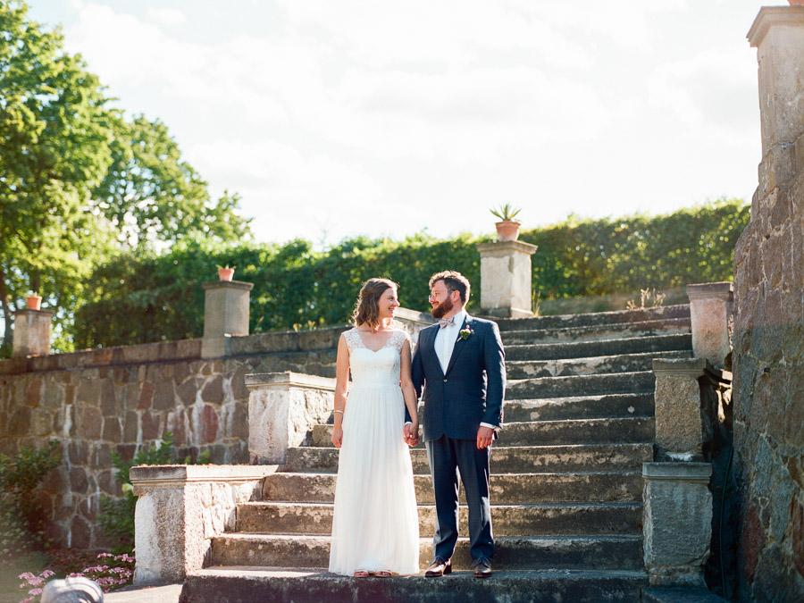Hochzeitsfoto auf Gut Suckow