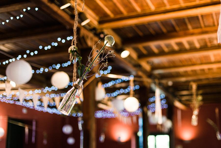 Blumige Hochzeitsdetails