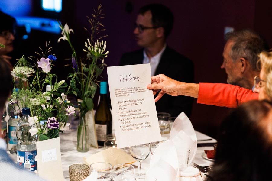 Aufgaben für Hochzeitsgäste