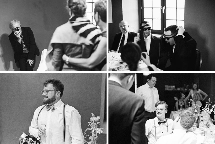 Collage Hochzeitsparty