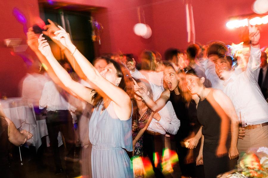 Selfie auf der Tanzfläche