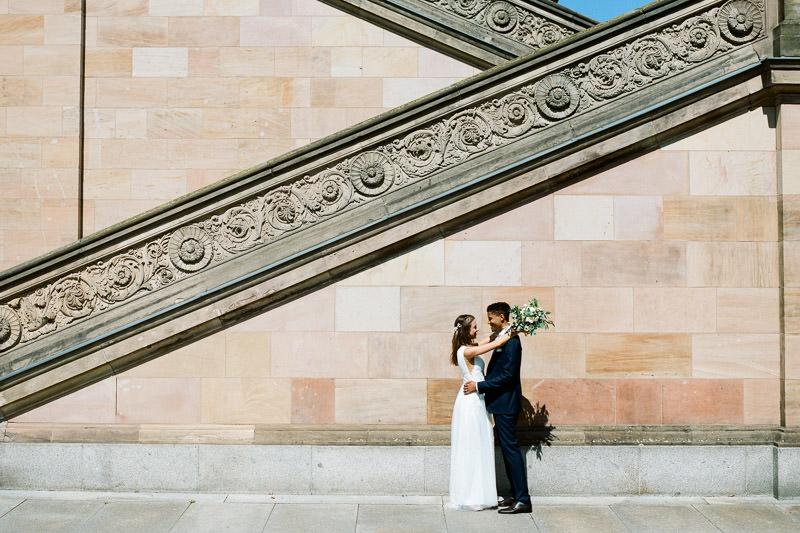 Hochzeitsfoto Museumsinsel