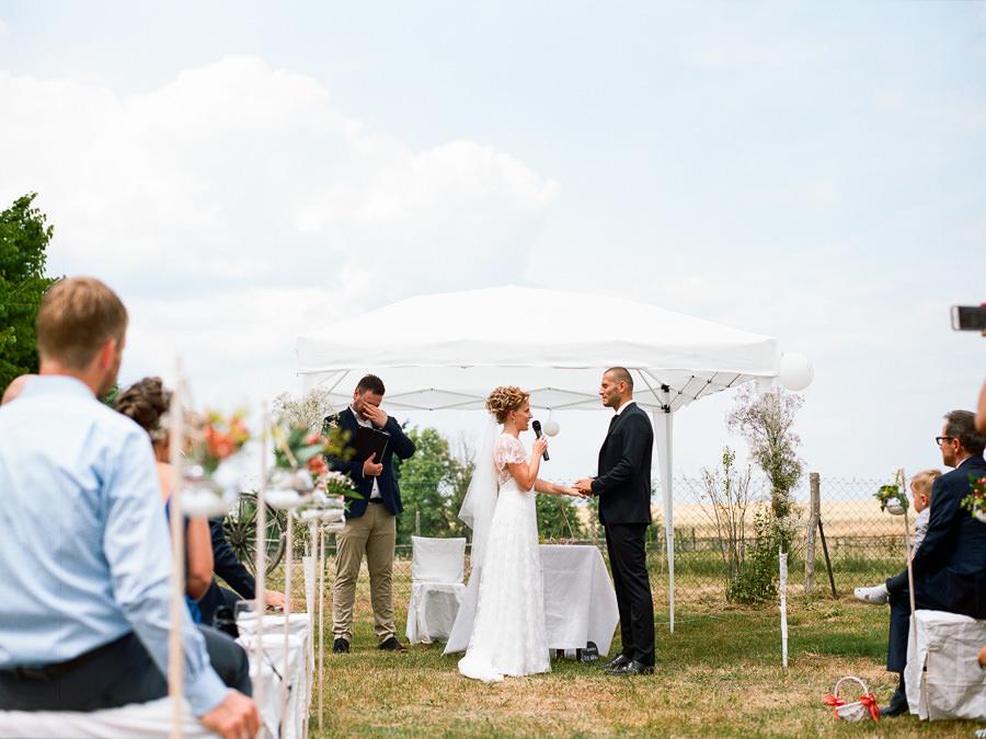 Ehegelöbnis des Hochzeitspaares