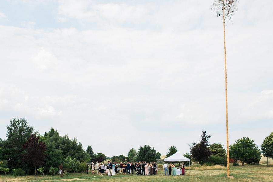Hochzeitsgesellschaft in Brandenburg