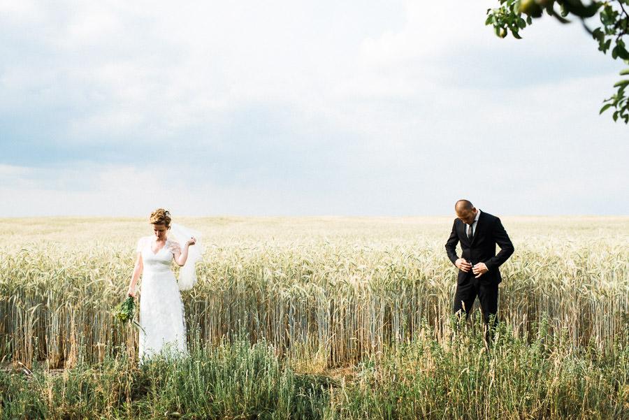 Hochzeitspaar im Fläming