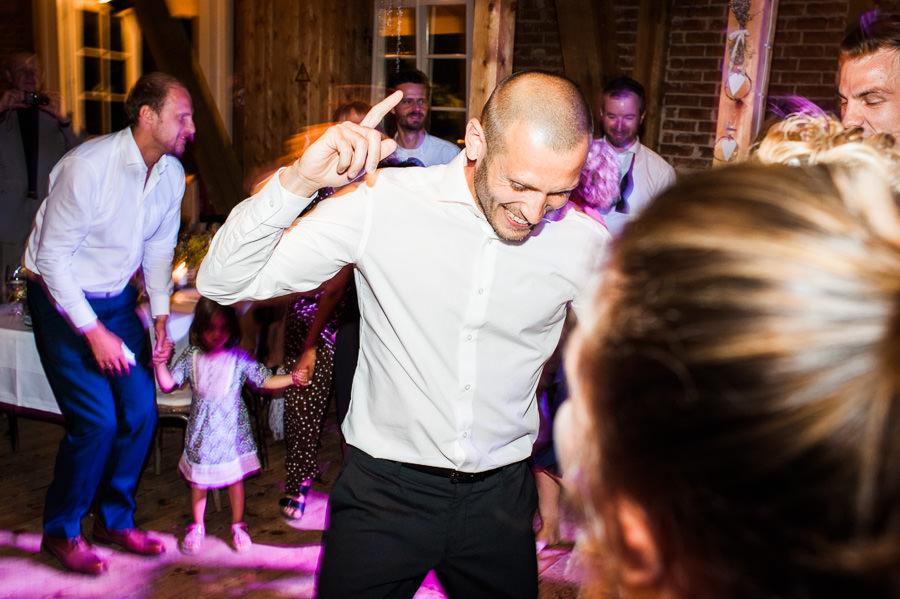 Party bei Hochzeit