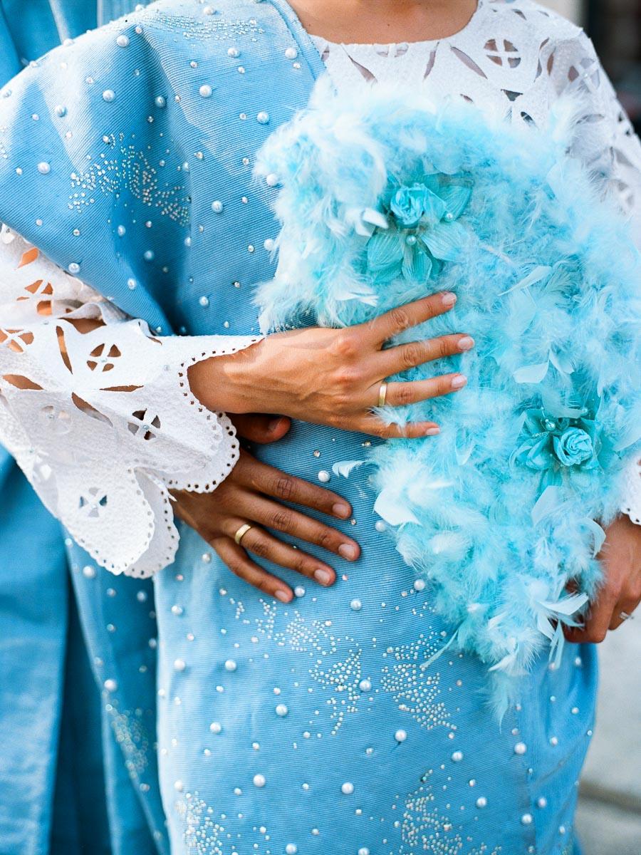 Stylisches Brautpaar