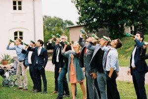 Spiel bei Hochzeit