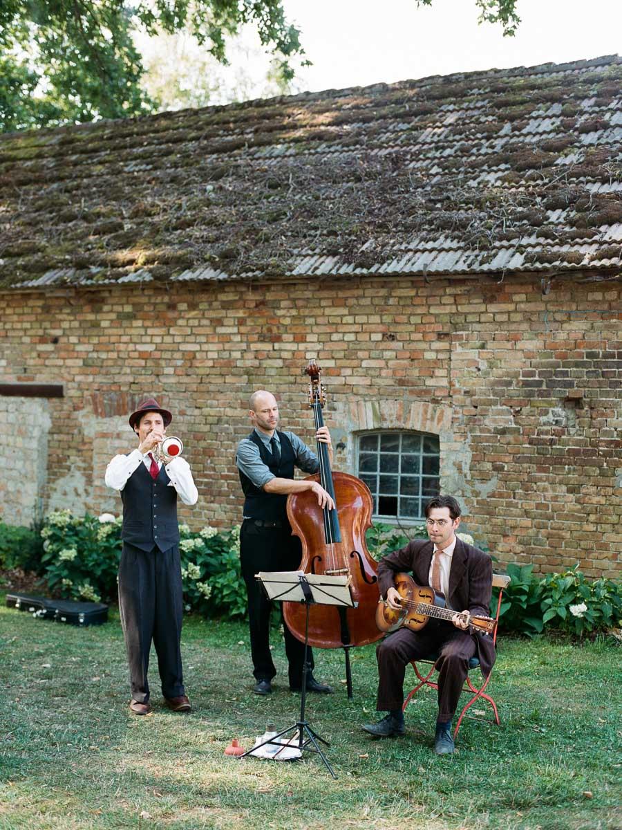 Band bei der Hochzeit