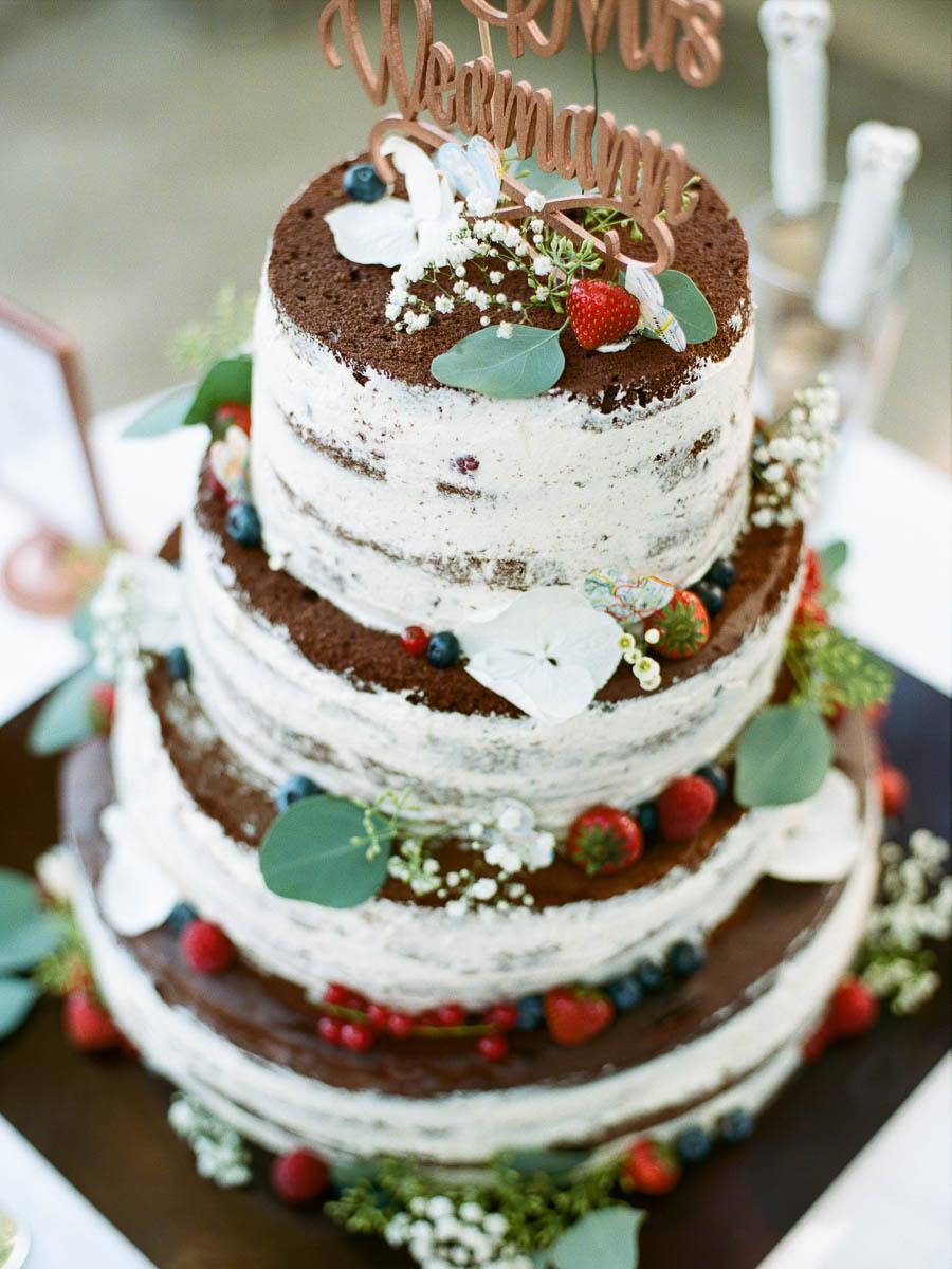 Außergewöhnliche Hochzeitstorte