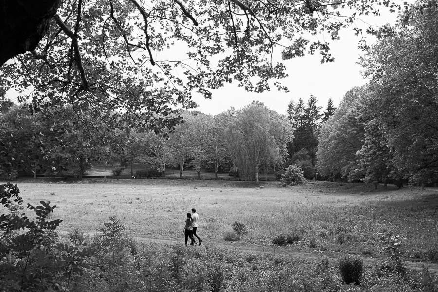 Paarshooting auf der Catcherwiese im Volkspark Rehberge