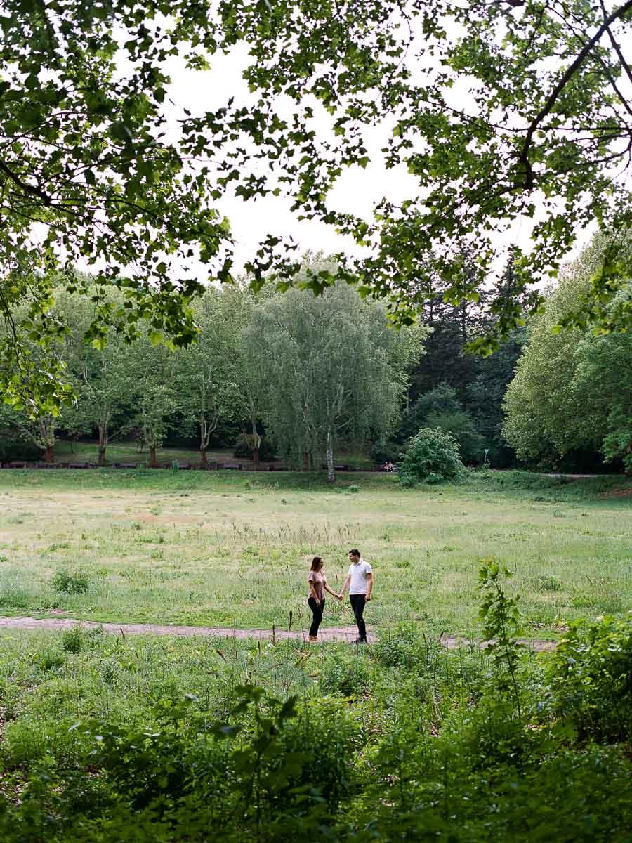 Paarfotos im Volkspark Rehberge