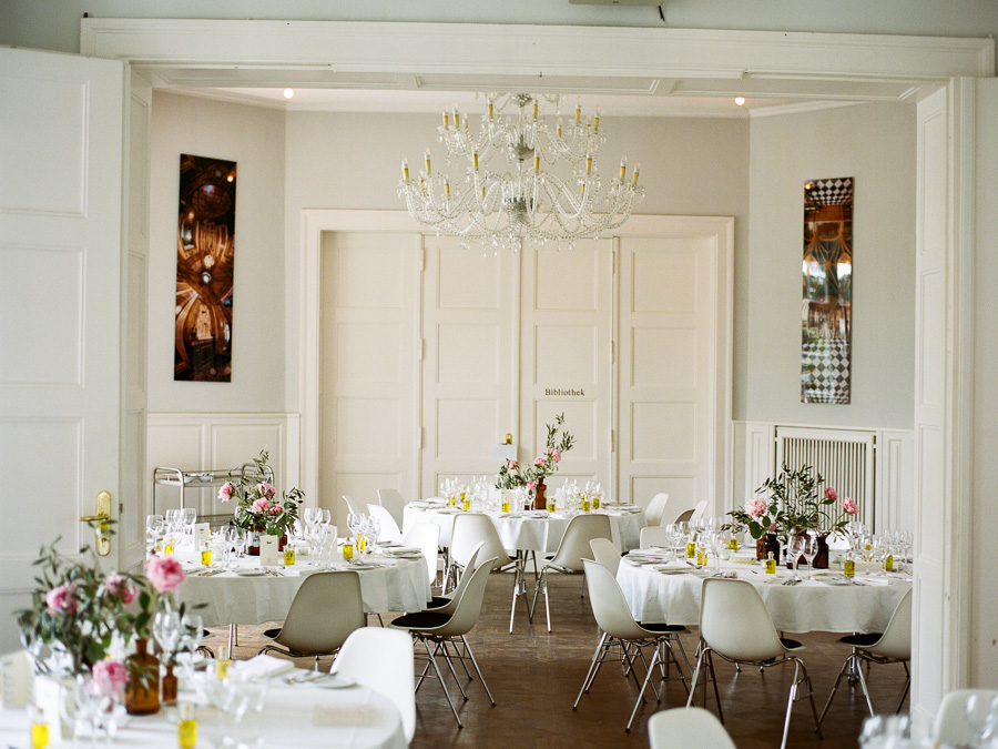 Hochzeitsdekoration in der Villa Blumenfisch